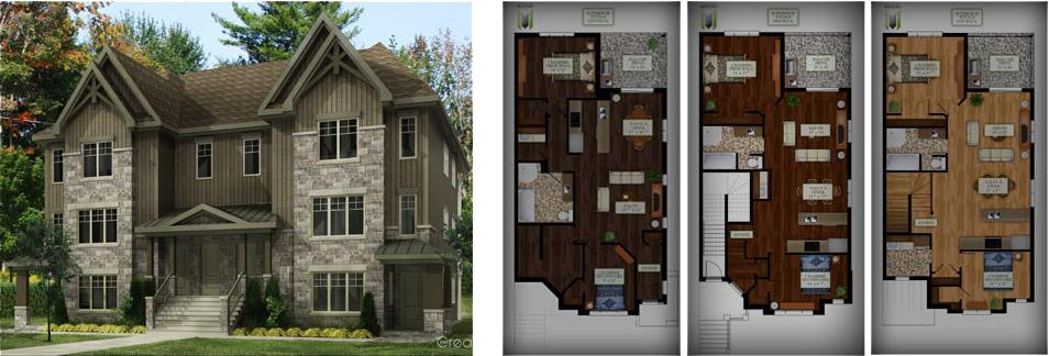 condominium dans lanaudi re vastes modernes pas cher. Black Bedroom Furniture Sets. Home Design Ideas